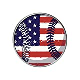 Expanding Stand and Grip for Phones or Tablet - Baseball Flag