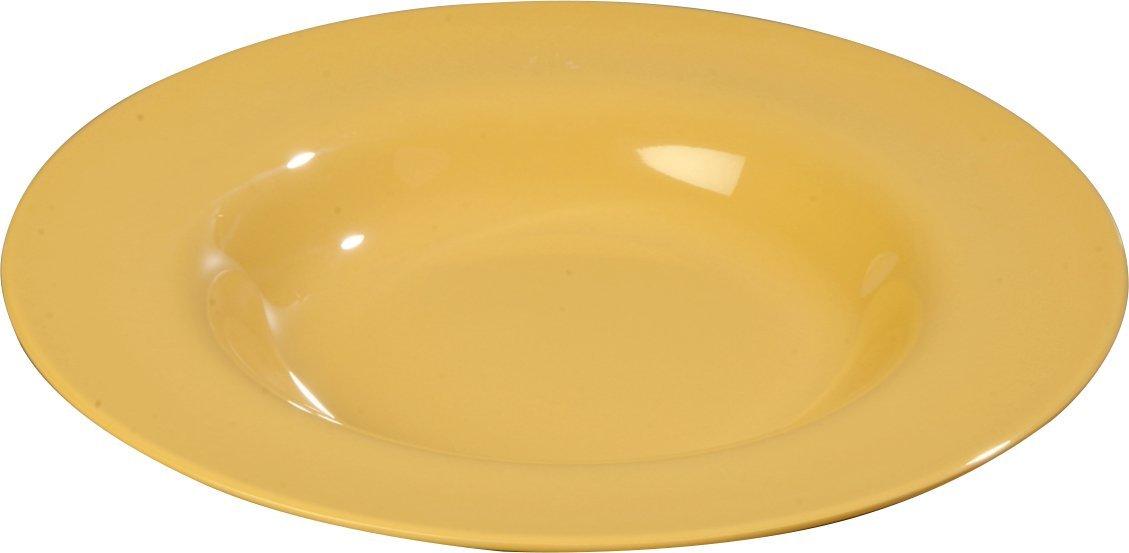 Carlisle 3303005 Sierrus Melamine Soup // Salad Bowls Red Set of 12 20-oz.