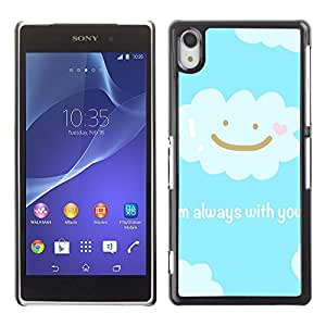 Dragon Case - FOR Sony Xperia Z2 - always with you - Caja protectora de pl??stico duro de la cubierta Dise?¡Ào Slim Fit
