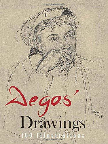 Degas' Drawings (100 Illustrations, Including 8 in - Catalogue Edgars Store