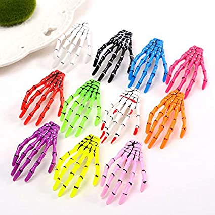 Pack of 10 Mixed Kids Child Hair Snap Clips Hair Grip Barrettes Headwear Generic