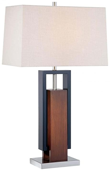 Minka lavery 10034 0 1 light table lamp walnutblackbrushed nickel minka lavery 10034 0 1 light table lamp walnutblackbrushed nickel mozeypictures Image collections