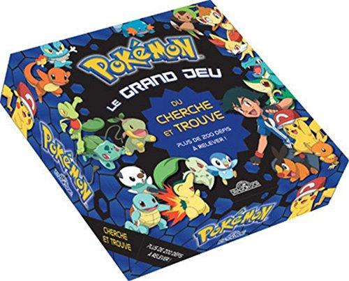 Pokémon - Le grand jeu du cherche-et-trouve Boîte – 6 octobre 2016 The Pokémon Company Dragon D'Or 2821206755 Livres objets