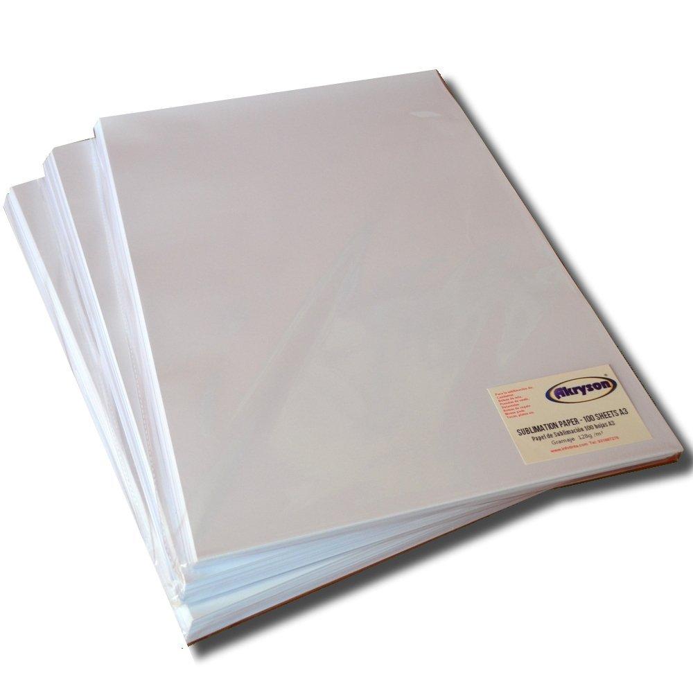 Papel de Sublimacion A3 para impresoras Epson de 128gr/m4 ...