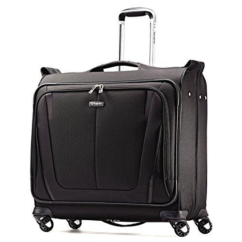 Samsonite Silhouette Sphere 2 Softside Deluxe Voyager Garment Bag, Black, 22 Inch