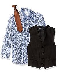 Conjunto de traje de niño Steve Harvey de cinco piezas