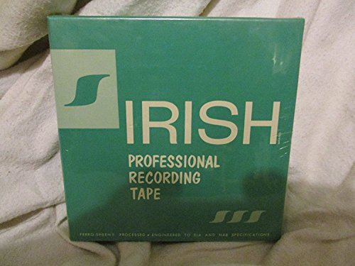 IRISH Professional Recording Tape 1/4 inch 1800 FEET Model - 241 by IRISH