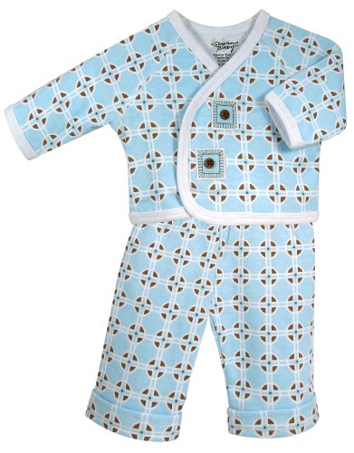 Price comparison product image Stephan Baby Diaper Cover and Jacket Set,  Neo-Geo Geometric Print