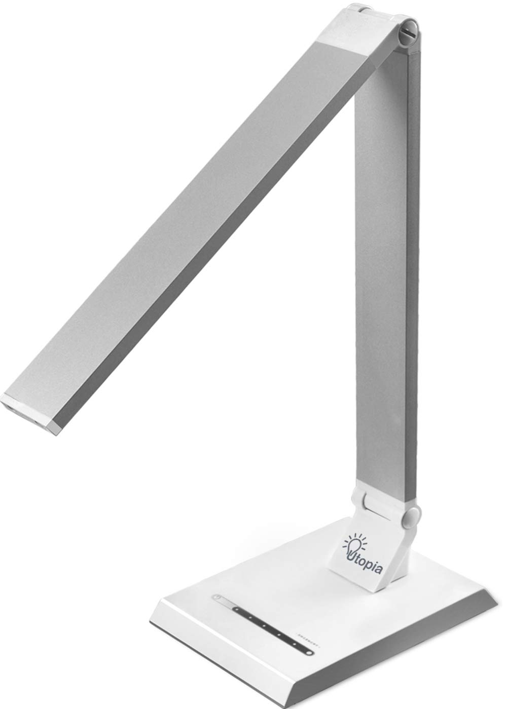 Utopia Home LED Desk/Table Lamp - Pack of 10 - Reading Lamp with USB Charging Port - Adjustable Brightness Levels with Touch Control - Rotatable Arm and Base by Utopia Home