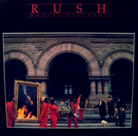 Rush, Moving Pictures - Vinyl Record (Pictures Vinyl Moving)