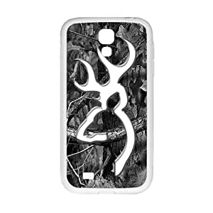 DAZHAHUI Browning Camo Deer Hunter Cell Phone Case for Samsung Galaxy S4