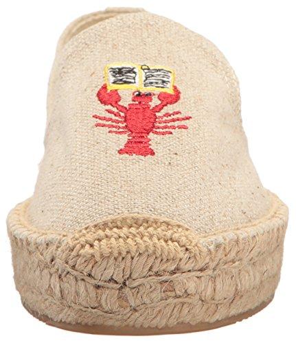 Soludos Kvinners Hummer Og Krabbe Plattform Tøffel Sand