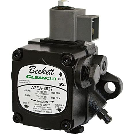 Beckett 2184404u A2EA-6527 Cleancut Oil Pump 3450