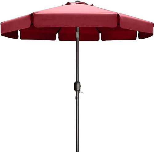 9FT Outdoor Garden Table Umbrella Patio Umbrella Market Umbrella