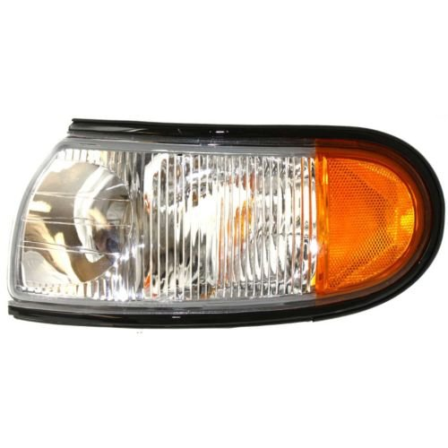 Make Auto Parts Manufacturing - QUEST 96-98 CORNER LAMP LH, Lens and Housing, Next To Headlamp - NI2520122 - Nissan Quest Headlamp Assembly
