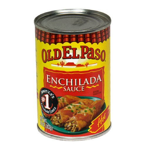 (El Paso Hot Enchilada Sauce, 10-Ounce Cans (Pack of 12))