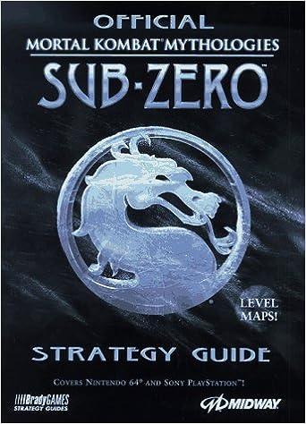 mortal kombat mythology sub zero