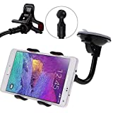 Shopcart Car Mobile Holder for Samsung Galaxy Tab 3 V Navigator Car Mobile Holder Stand | Premium 360 ° Degree Rotable Mobile Phone & GPS Device Holder For Desk Mount | Car Windshield | Car Dashboard | Working Desks | Best Quality Lower Price Car Mobile Holder Stand Mount | Premium Touch One Adjustable Car Mobile Holder - Black
