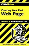 cliffsnotes creating your first web page