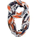 NFL Sheer Infinity Scarf Chevron Pattern (Denver Broncos)