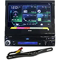 Jensen VX3012 7 Car DVD Player w Bluetooth/iPhone/Aux/USB+License Plate Camera