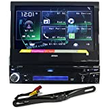 "Jensen VX3012 7"" Car DVD Player w Bluetooth/iPhone/Aux/USB+License Plate Camera"