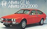 1976 Alfa Romeo Alfetta GTV 2000 GT 1.6 Brochure French