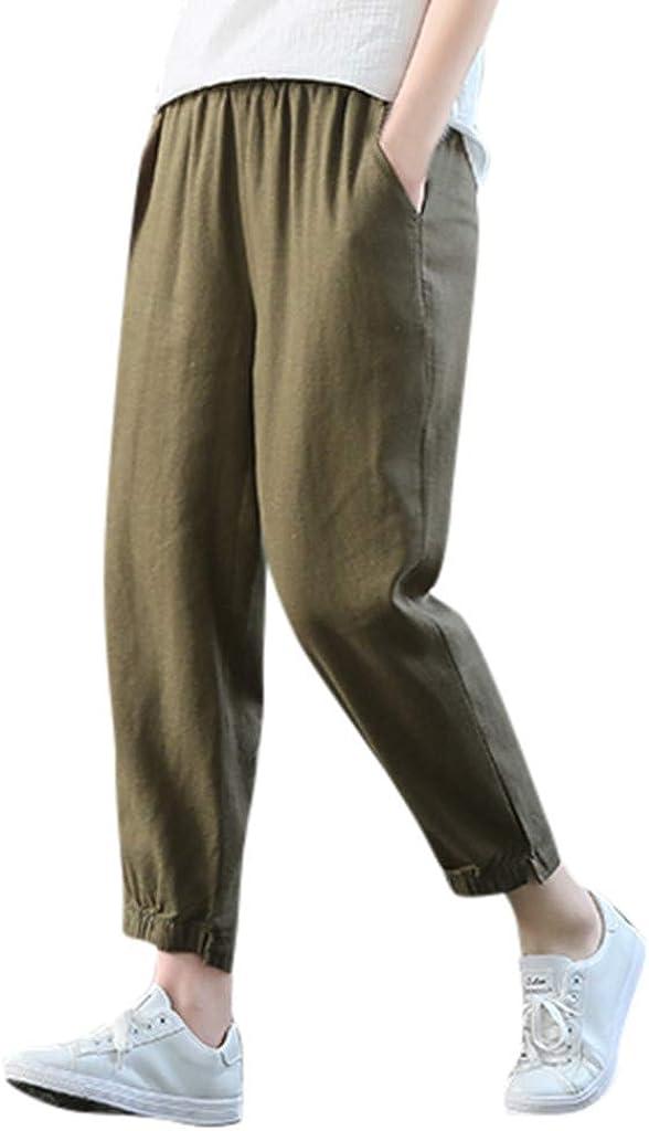 SUDADY Pantalón de Mujer con Peto Informal y pantalón de Corte ...
