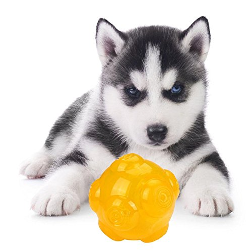 Price comparison product image Luxsea Dog Toy Molar Bite-resistant Elastic Sound Ball 8 CM