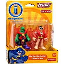 Imaginext, DC Comics Justice League, Martian Manhunter and Plastic Man Figures