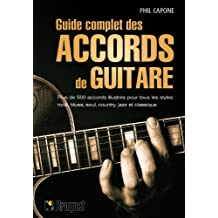 Guide complet des accords de guitare