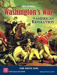 GMT Games 1002 Washingtons War The American Revolution