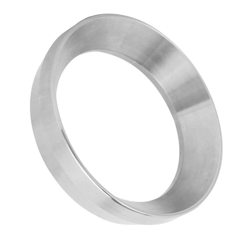 Coffee Dosing Ring, Dosing Funnel, Stainless Steel 51mm Office for Home Coffee Lover Coffee Machine
