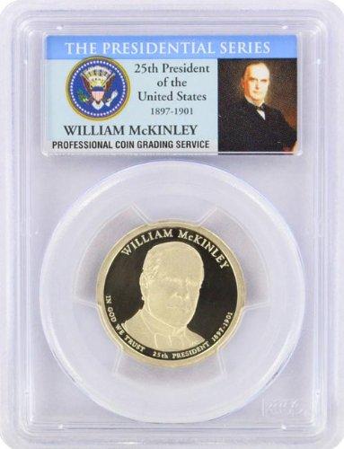 2013 McKinley Presidential S Proof Presidential Dollar PR-69 PCGS