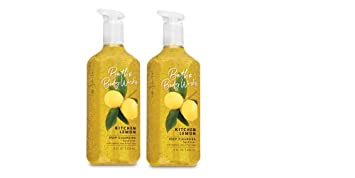 Bath And Body Works Deep Cleansing Hand Soap Kitchen Lemon 8 Fl Oz Lot Of 2