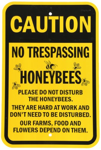 Bee Yard Sign