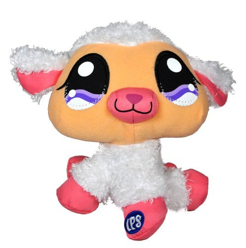 Littlest Pet Shop Collectible 6 Inch Tall Pet Plush Figure - White ()