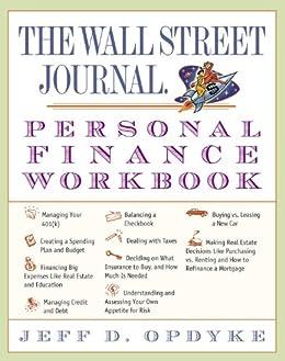 amazon com the wall street journal personal finance workbook wall