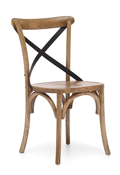 Natural Wood Bentwood Cafe Chair   Set Of Two