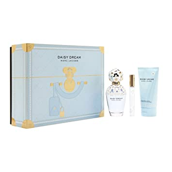 b58f7d0ec7b6 Amazon.com : MARC JACOBS Daisy Dream 3 Piece Gift Set, 3.4 Fluid Ounce :  Beauty