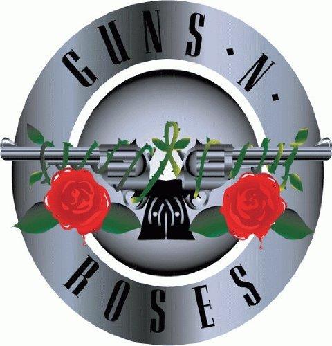 Guns Roses Music Bumper Sticker product image