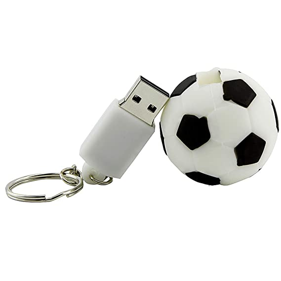 Memoria USB 2.0 con Forma de balón de fútbol con Forma de balón de ...
