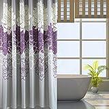 Amazoncom Purple Shower Curtains Hooks  Liners  Bathroom - Purple and gold shower curtain