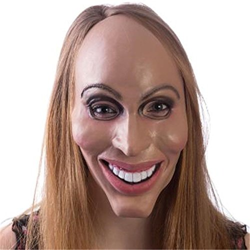 The Purge Costumes For Halloween (Adult The Purge Costume Mask (Female))