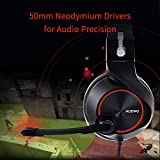 NUBWO Gaming Headset,Headphones with Noise