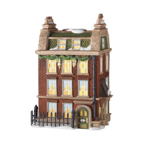 Department 56 Dickens Village 48 Doughty Street Home