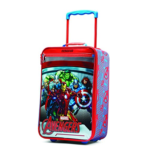 "Price comparison product image American Tourister Marvel 18"" Upright Softside, Avengers"
