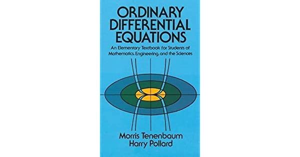Ordinary differential equations livros na amazon brasil 9780486649405 fandeluxe Images