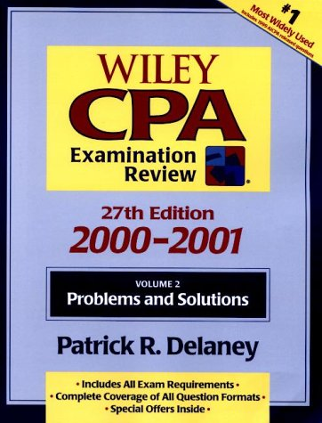 Wiley CPA Examination Review, Volume 2, Problems and Solutions, 27th Edition