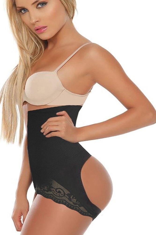 Bettydom High Rise Slimming Shapewear Undergarments Bodysuit Seamless Tummy Control Trimmer Shaper Black) ZFSLS6054bl3XL3